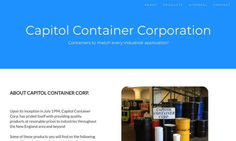 Capitol Container Corporation