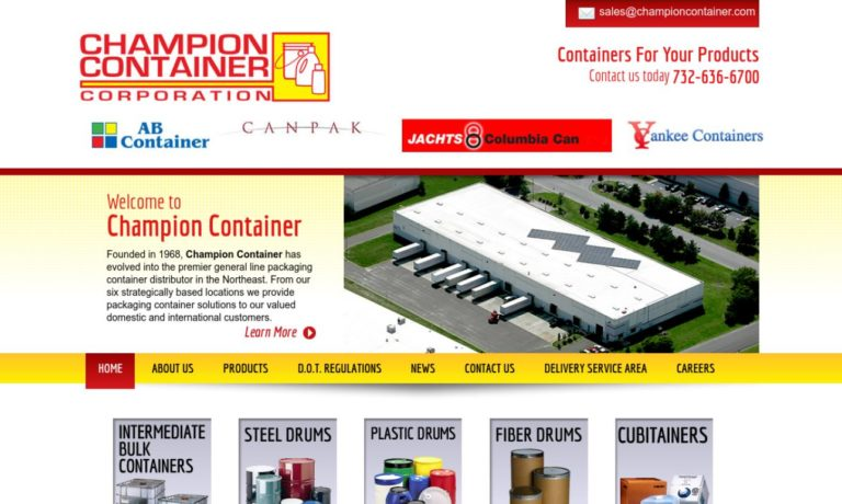 Champion Container Corporation