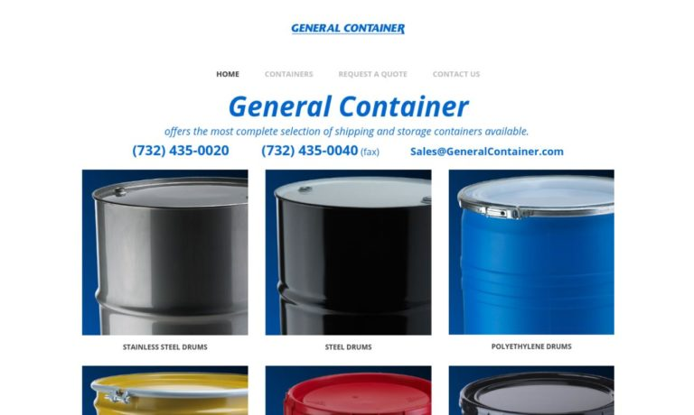 General Container Corp.