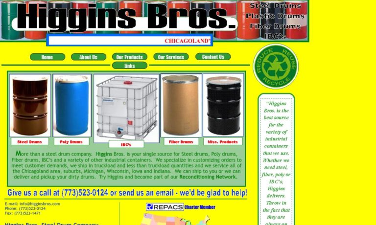 Higgins Bros. Steel Drum Company
