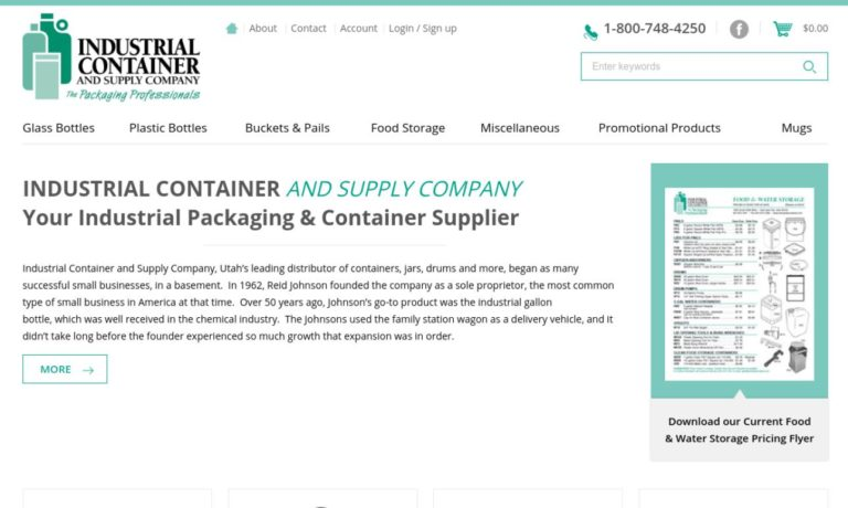 Industrial Container and Supply Co., Inc.