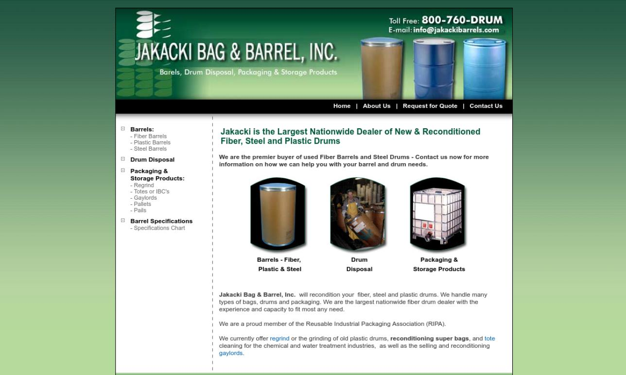 Jakacki Bag & Barrel, Inc.