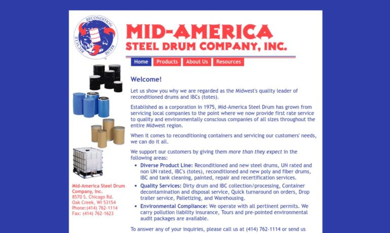 Mid-America Steel Drum Company, Inc.