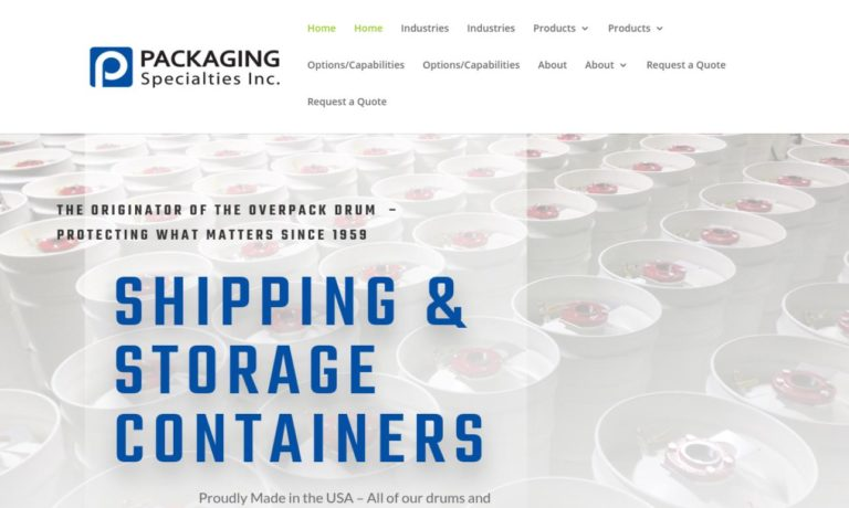 Packaging Specialties Inc.