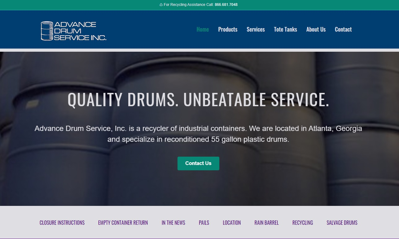 Advance Drum Service, Inc.